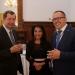 Vlagyimir Szergejev Oroszország nagykövete Csillik Dilarával és Balogh Sándorral (1)