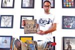 Vinylize founder Zack Tipton