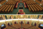 OGY - Megújult az Országház alsóházi ülésterme