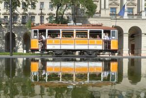 Nosztalgiavillamos Budapesten