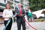 Chargé d'affaires a.i. of the Embassy  of Sweden in Budapest Anna Boda and Deputy Mayor  of Budapest  Dr. Gábor Bagdy