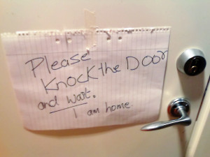 knock-on-door