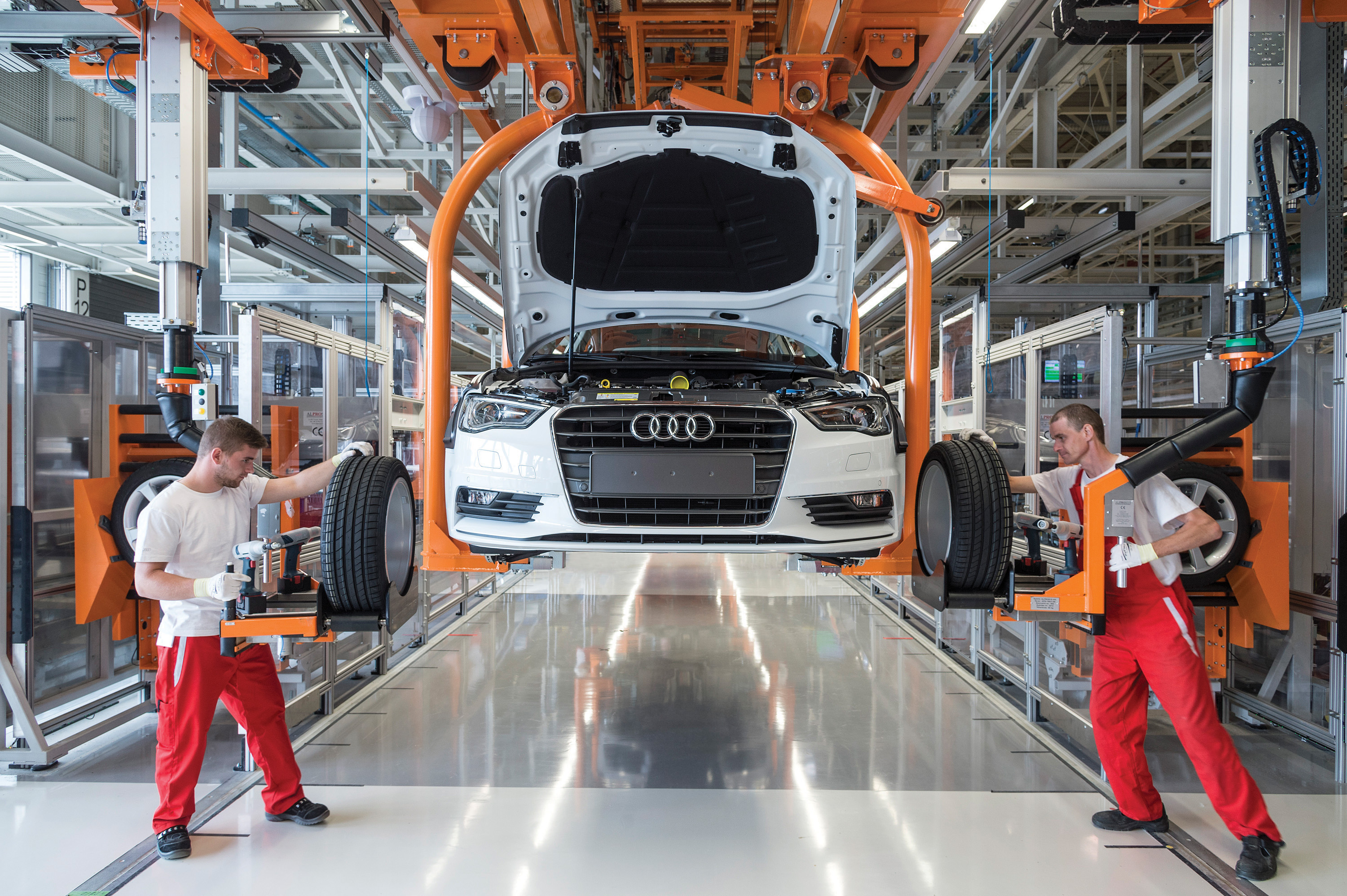 Second Home For The Bavarians The Budapest Times - Audi car made in which country