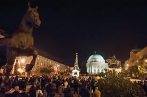 Internetadó - Tüntetés Pécsen