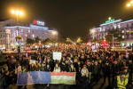Beutazási tilalom - Tüntetés az adóhatóság vezetőinek lem