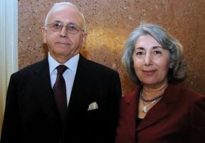 Ambassador Fakılı and Mrs Behiye Fakılı