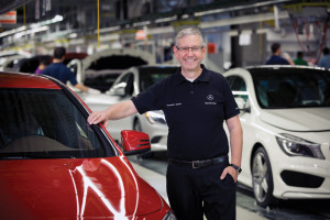 Factory director Thomas Geier has every reason to smile: at the end of September the plant produced its 250,000th car