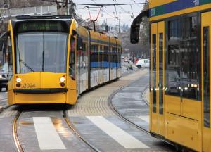 Közlekedés - Budapest - Modern körúti villamosok