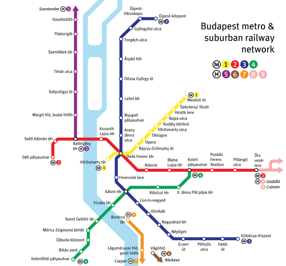 Budapest Subway Map English.Adventures In The Underworld The Budapest Times