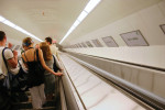 You'll find the longest  escalators on the M2 line