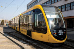 Bemutatták az első spanyol CAF-villamost Budapesten
