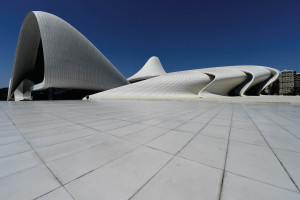 The Heydar  Aliyev Centre