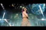 Katy Perry's fireworks  at Buda Castle