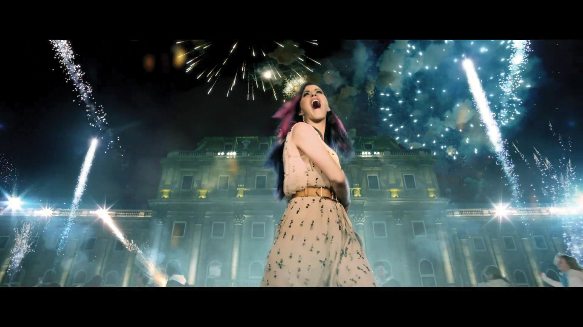 Spectacular view from ... Katy Perry Firework Movie