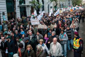 """Tüntetés """"a korrupció kormánya ellen"""" – Budapest"""