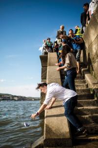 Holokauszt-emléknap - Megemlékezés a Cipők a Duna-parton eml