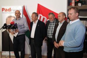 Tóbiás József; Gőgös Zoltán; Varju László; Pad Ferenc; Dorner László