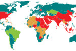 Capital punishment has been used in almost every part of the world but many countries have since abolished it. The use of capital punishment is usually divided into the following four categories. As of March 2015, of the 195 independent states that are United Nations members or have UN observer status: 103 (blue) have abolished it for all crimes; 6 (green) have abolished but retain it for exceptional or special circumstances (such as crimes committed in wartime); 50 (brown) retain but have not used it for at least 10 years or are under a moratorium; 36 (red) retain it in both law and practice.
