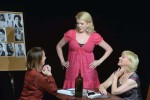 "(From left) Esther Holbrook, Beth Spisljak and Virginia Proud in ""Pretext"""