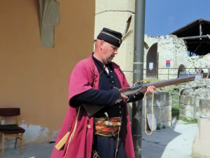 16th century  soldier  at Eger castle