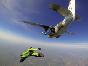 If you want to  skydive on a Sunday afternoon  in Florida,  you better  not get divorced