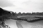 In 1949 the Velodrom  hosted the Davis Cup match  between Hungary and France.
