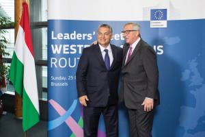 Orbán Viktor; JUNCKER, Jean-Claude