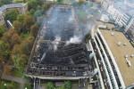 Tűz a Testnevelési Egyetemen