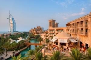 DUBAI- Madinat Jumeirah -  Exterior View