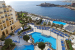 Corinthia Hotel  St. George's Bay north of Valletta