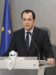 Government spokesman Nikos Christodoulides