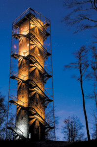 New lookout in Galyatető wins award in Architizer magazine's  construction and renovation category