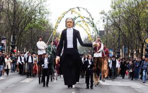 Budapest Spring Festival starts with carnival on Andrássy út