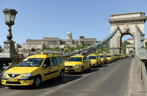 Cab drivers protest twice against Uber in two weeks