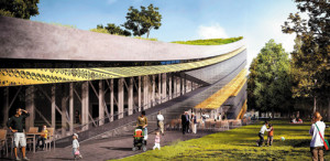 The winning plan of the new Museum of Ethnography, which will be built in City Park