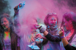 Festival of Colours in Nagyvárad