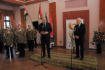 Ambassador Marx, right,  and Deputy Minister Szabó