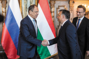 The foreign  minister's meeting with Viktor Orbán