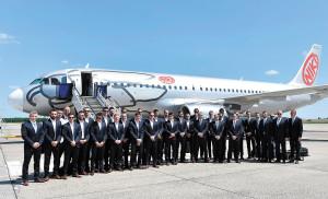 National football team leaves for France