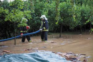 Torrential rain hits Zala County