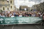 Oktatási demonstráció Budapesten