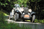 Beijing to Paris veteran car challenge crosses Hungary