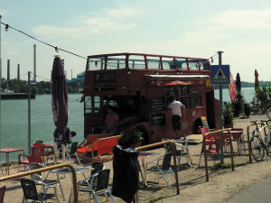 The double-decker buffet  in south Budapest