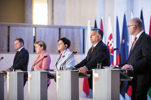 The V4 summit in Warsaw