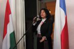 Ambassador of Chile  Verónica Chahin Photos by György Konkoly-Thege