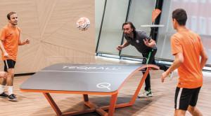 A Teqball pénzzel és sporteszközzel is támogatja a Ferencvá