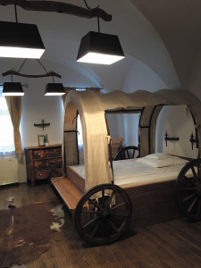 The ox cart bed