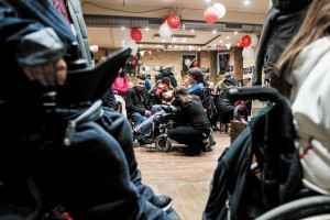 Café Never Give Up – employing only people with disabilities – celebrates first birthday