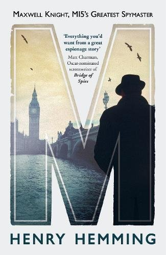 Book, Maxwell Knight, MI5's Greatest Spymaster